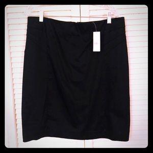 🏖NEW🏖NWT NY&Co black textured work pencil skirt